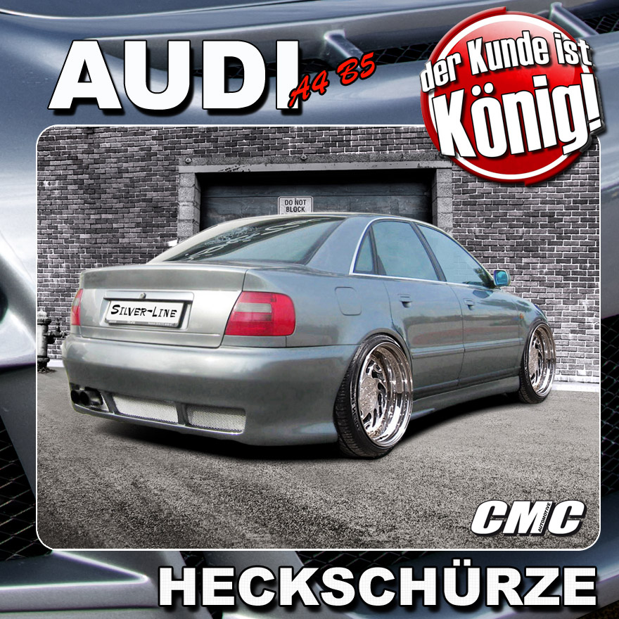 Audi A4 B5 Limousine Quot Silver Line Quot Abs Hecksto 223 Stange